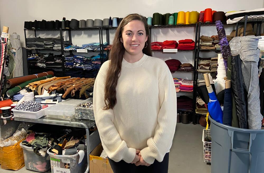 Jessica Schreiber of Fabscrap
