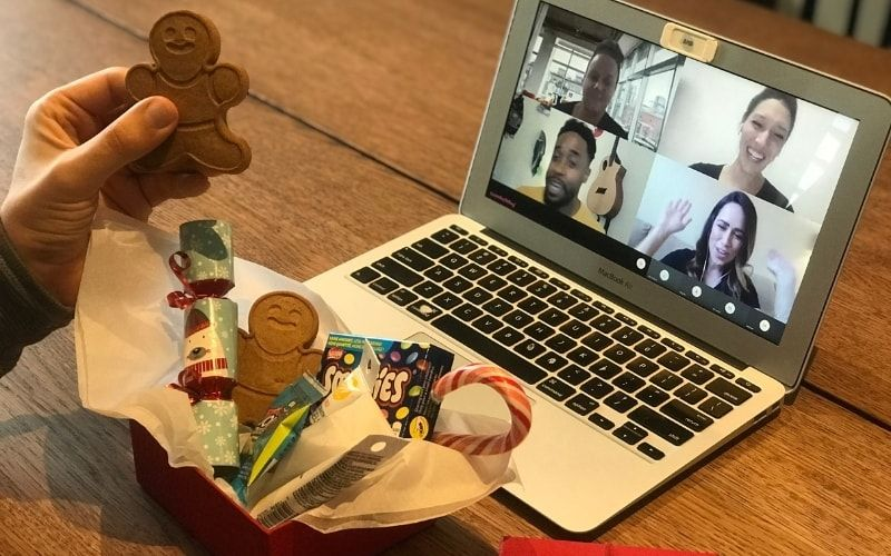 "TeamBuilding, which hosts online events, is offering a popular ""Virtual Gingerbread Wars"" corporate event this holiday season. (Credit: TeamBuilding.com)"