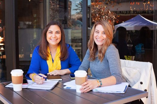 Ali Everhard and Melissa Rouswell Womens Council of Entrepreneurs
