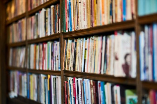 Book Shelf [Credit: Pexels]