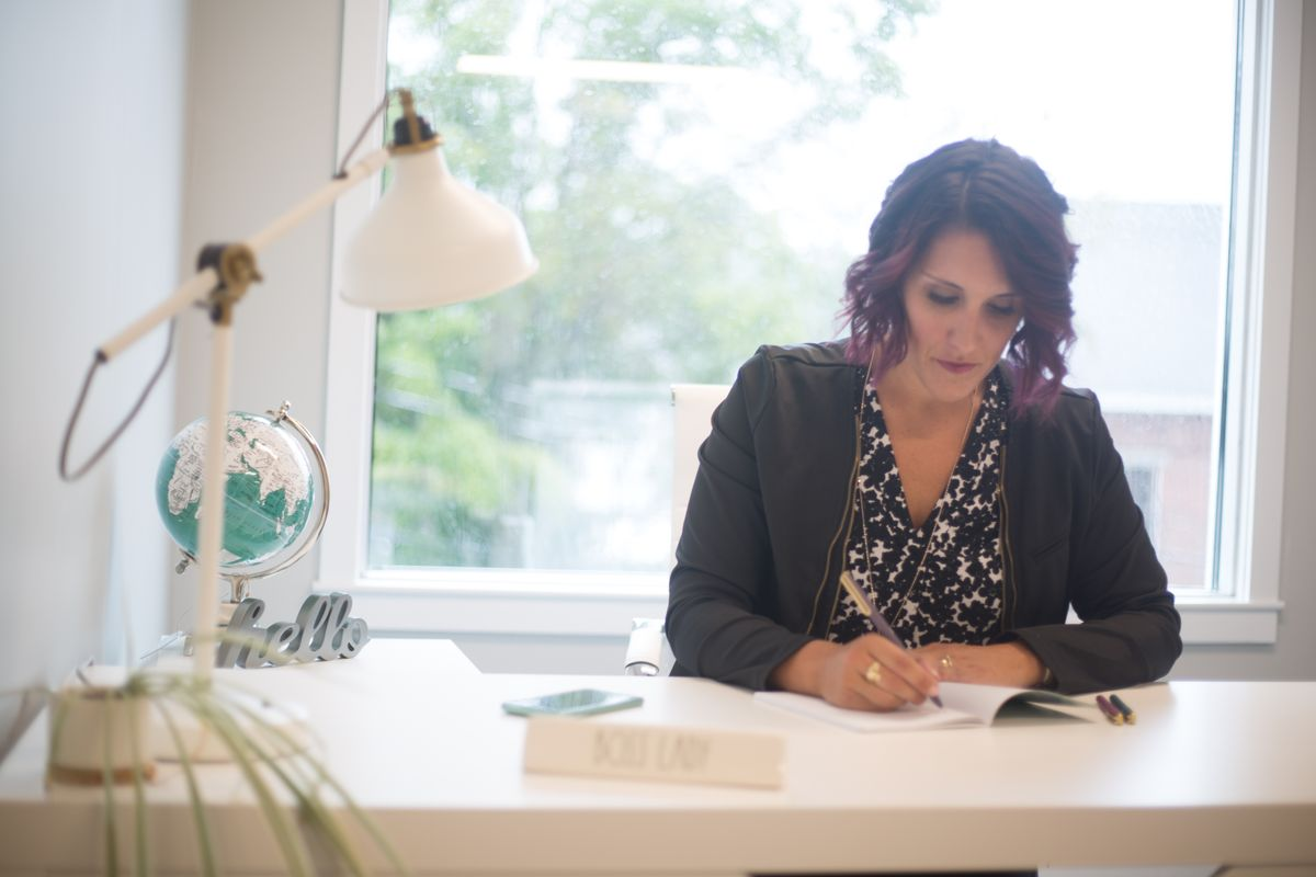 As the coronavirus crisis carries on, here are some ways for women entrepreneurs to formalize their companies' work-from-home arrangements.