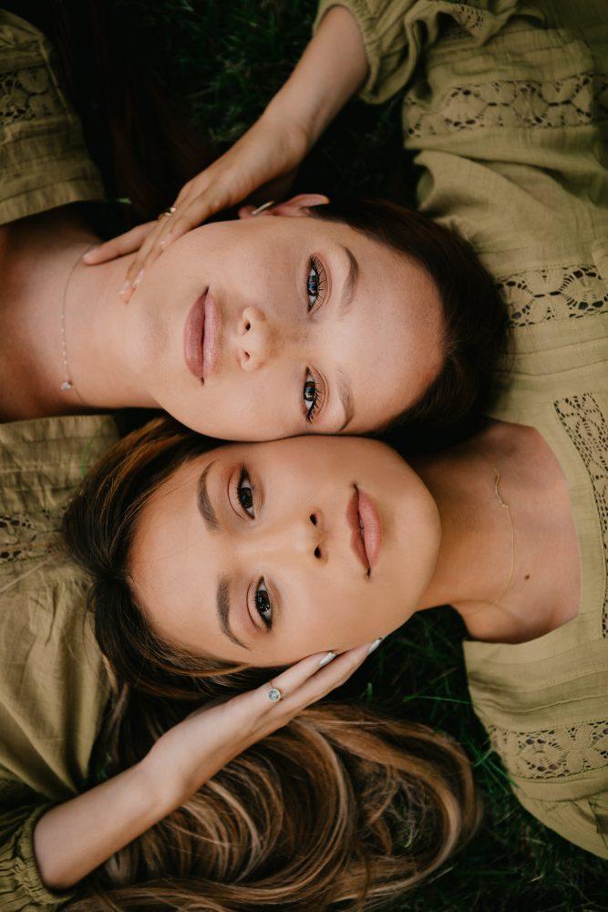 Aja and Tia Blanco Dear Self Skincare