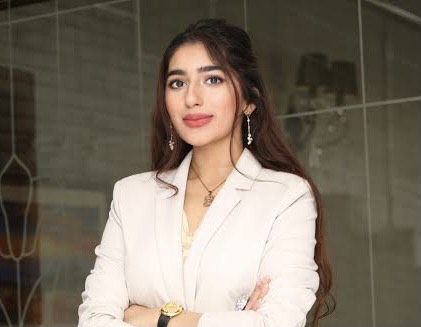Aliza Ayaz is a climate change activist from Pakistan.