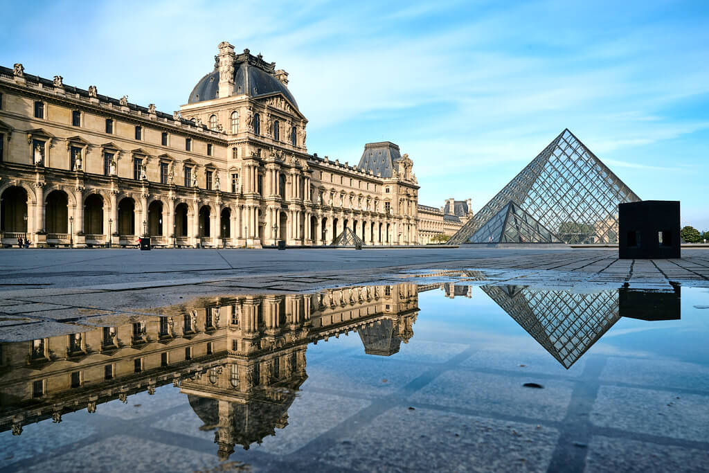The Louvre in Paris, France, is welcoming its first woman as president. (Credit: Flickr)
