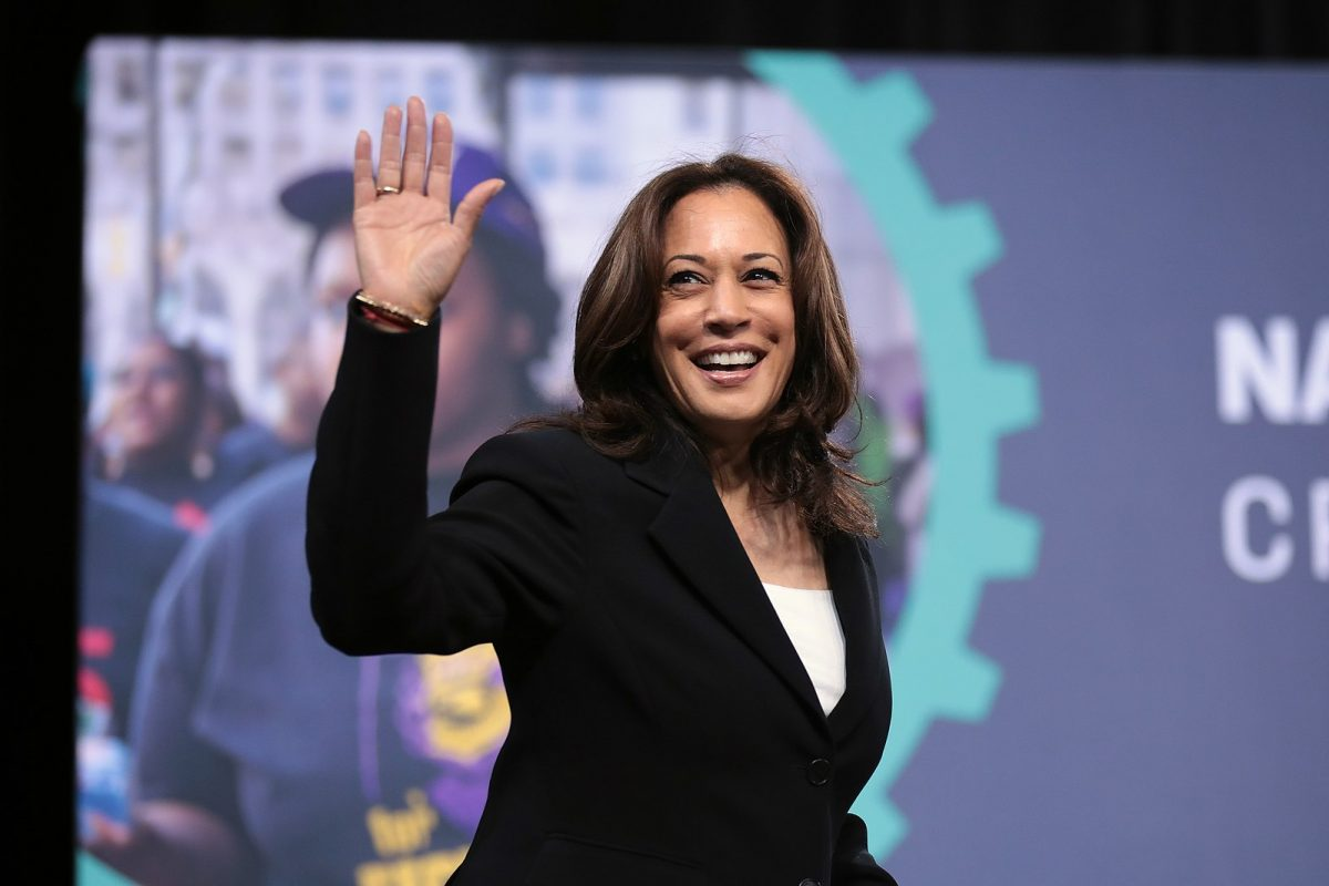 Madam Vice President Kamala Harris added to her extensive list of firsts when she spoke at the U.S. Naval Academy graduation commencement.