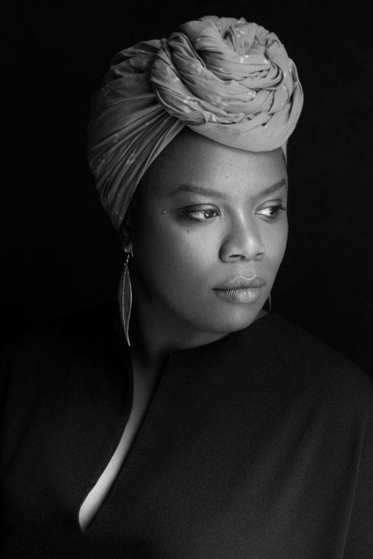 2018 Whiting Foundation Award winner Antoinette Nwandu, New York, New York, March 22, 2018. (Credit: Beowulf Sheehan)