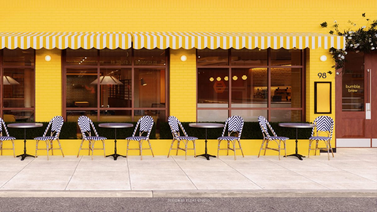 Bumble Brew, a partnership between the app and Italian eatery Pasquale Jones, is scheduled to open this weekend in New York's Nolita neighborhood.