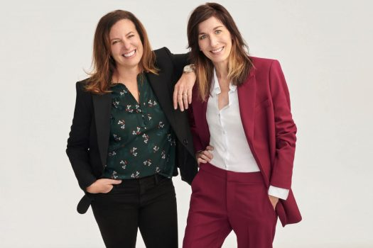 Michelle Jacobs, left, and Sally Mueller founded Womaness to provide self-care and wellness products to treat menopause symptoms such as hot flashes, sleepless nights and vaginal dryness.