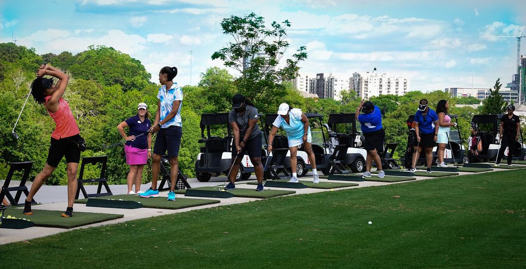 Black Girls Golf has exposed the male-dominated sport to women of color. (Courtesy BGG)