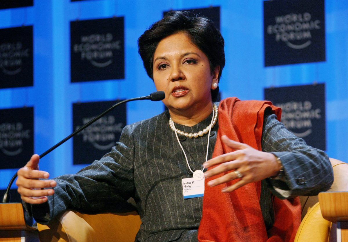 Indra Nooyi has come out with a memoir about sexism she faced as head of PepsiCo. (Credit: Wikimedia Commons)