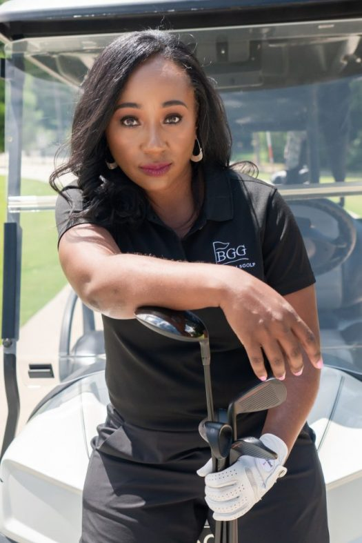 Tiffany Fitzgerald started Black Girls Golf in 2013, and it has grown to nearly 5,000 members. (Courtesy Tiffany Fitzgerald)